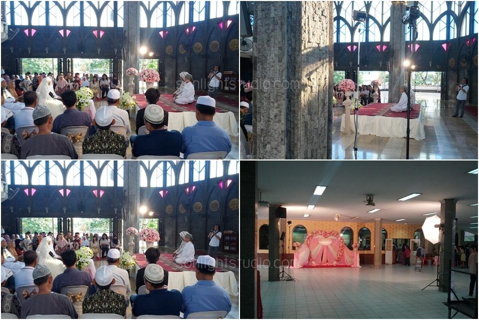 เช่าไฟสปอตไลท์ ไฟสตู งานแต่งงานแบบอิสลาม ศูนย์กลางอิสลามแห่งประเทศไทย