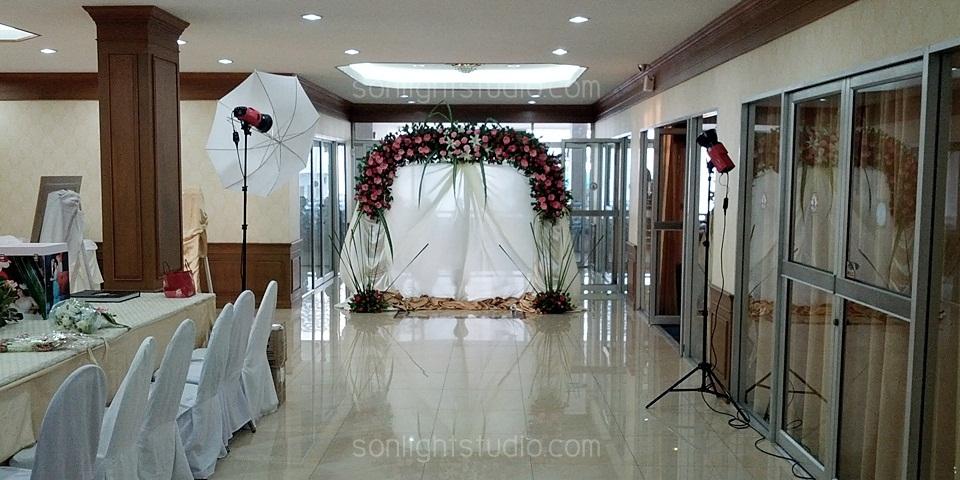 เช่าไฟร่ม งานแต่งงาน นันทอุทยานสโมสร ฐานทัพเรือกรุงเทพ