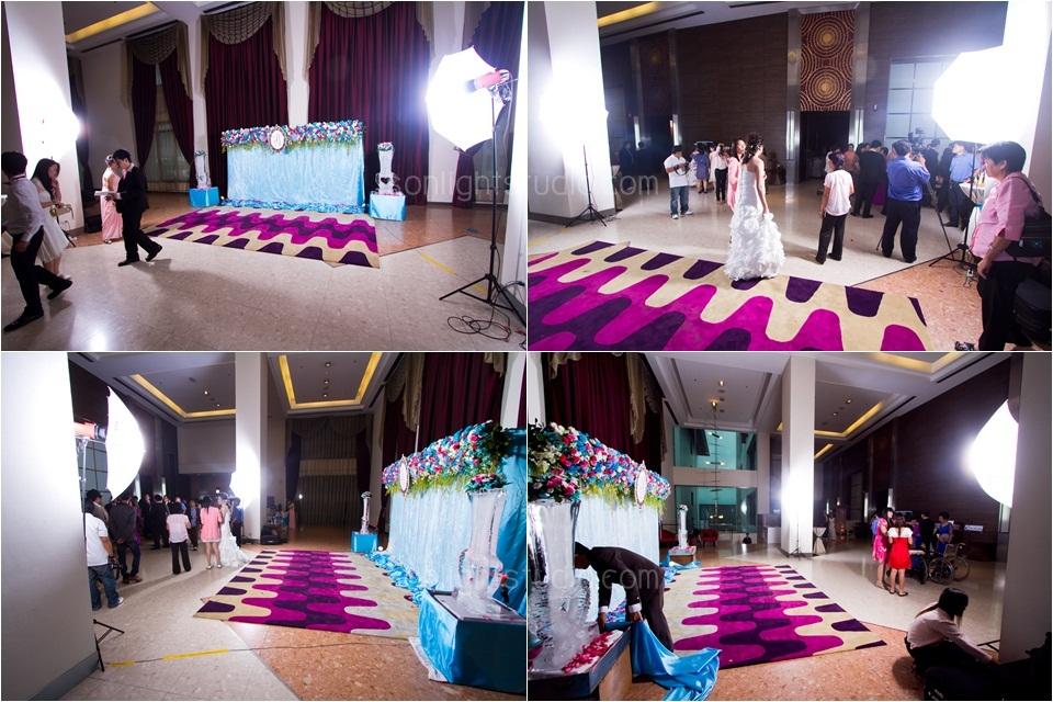 เช่าไฟสตูดิโอ ถ่ายภาพงานแต่งงาน โรงแรมริชมอนด์ นนทบุรี
