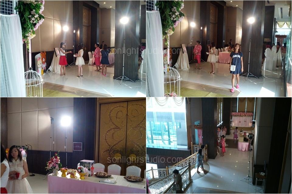 เช่าไฟต่อเนื่อง งานแต่งงาน โรงแรมริชมอนด์ นนทบุรี