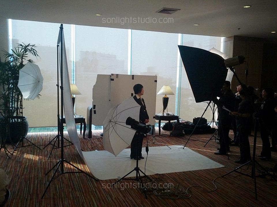 เช่าไฟสตูดิโอ ถ่ายภาพ ผู้ตรวจประเมินรางวัลคุณภาพแห่งชาติ โรงแรมเซ็นจูรี่ปาร์ค ดินแดง