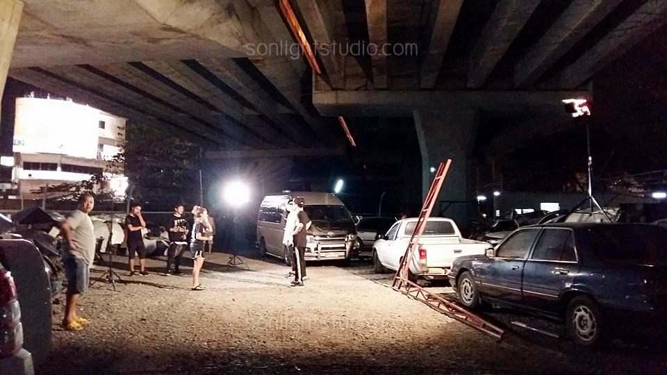 ถ่ายเต้น MV ในสุสานรถยนต์สายไหม